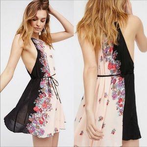 Free People (Intimately) Floral Printed Dress/Slip